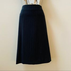 Lane Bryant Straight Pinstripe Skirt